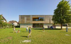 VOLKSSCHULE EDLACH-DORNBIRN __ STAATSPREIS FÜR ARCHITEKTUR- UND NAHHALTIGKEIT__Dietrich | Untertrifaller Architekten___©_KURT HOERBST 2017