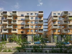 HOLZWOHNBAU SEESTADT __ STAATSPREIS FÜR ARCHITEKTUR- UND NAHHALTIGKEIT__BERGER+PARKKINEN Architekten___©_KURT HOERBST 2017