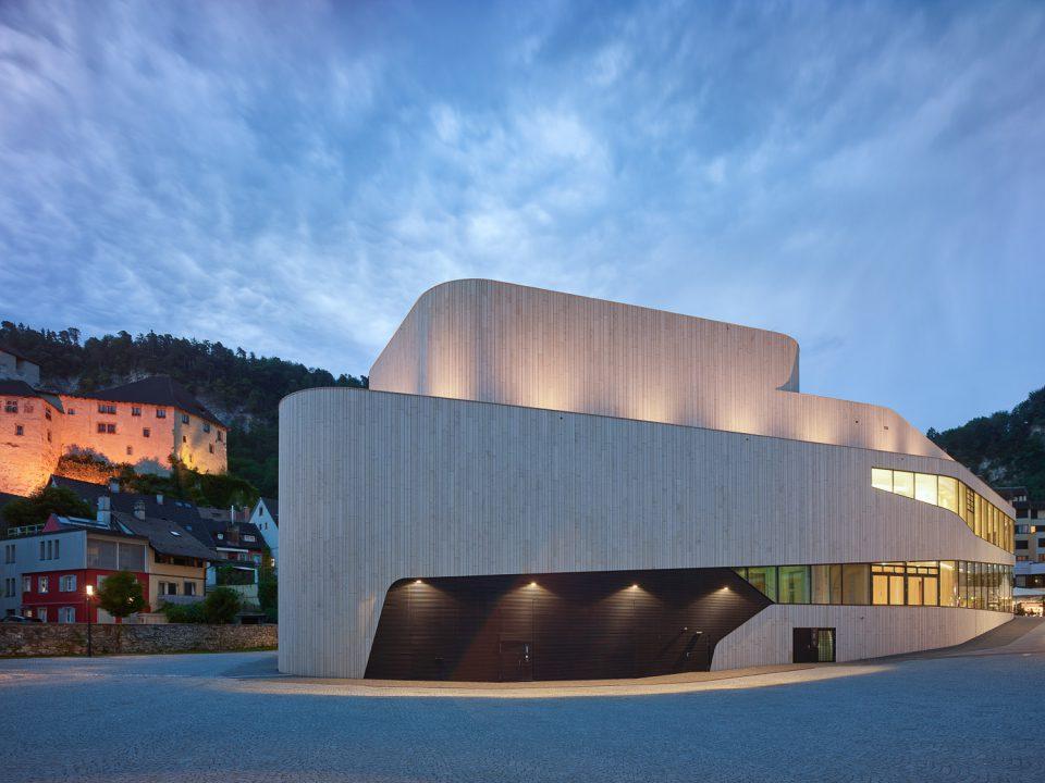 MONTFORTHAUS FELDKIRCH __ STAATSPREIS FÜR ARCHITEKTUR- UND NAHHALTIGKEIT__HASCHER JEHLE Architektur___©_KURT HOERBST 2017