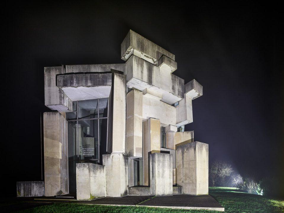 Wotrubakirche - Fritz Wotruba & Fritz Gerhard Mayr ___©_KURT HOERBST 2015