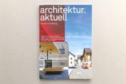 architektur aktuell (Austria 2015) :: Kulturhaus Kals :: Schneid