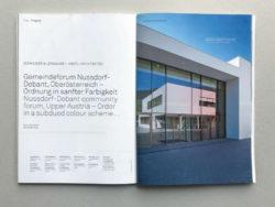 architektur aktuell (Austria 2012) :: community forum, Nussdorf-Debant :: Schneider & Lengauer / HERTL Architekten