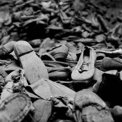 Auschwitz, shoes of prisoners