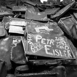 Auschwitz, prisoners luggage