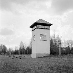 dachau, watch-tower