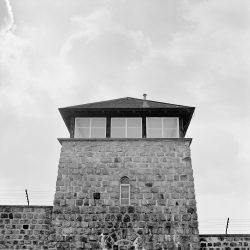 mauthausen, watch-tower