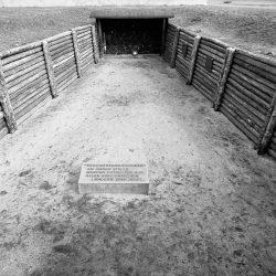 sachsenhausen, shooting trench