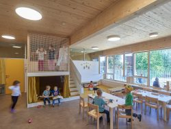 Kindergarten und Hort Bad Hall_ARCHITEKTURKANTINE___©_KURT HOERBST 2019