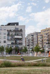Quartier am Hannah-Arendt-Park Seestadt Aspern - STAATSPREIS FÜR ARCHITEKTUR UND NAHHALTIGKEIT 2019___©_JONAS HÖRBST 2019