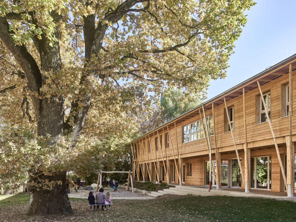 KinderGärtnerei St. Oswald - Traunstein, Deutschland__ Köhler Architekten___©_KURT HOERBST 2021